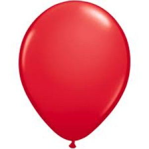 LATEX RED BALLOON